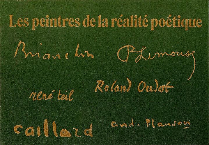 Carton d'invitation de l'exposition organisé par Marc Lacruz