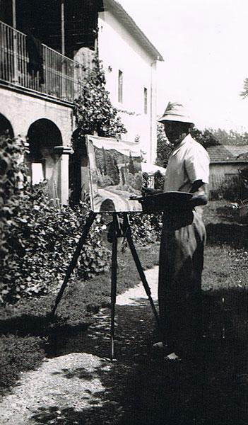René Teil à Lugny-Les-Macon (1946)