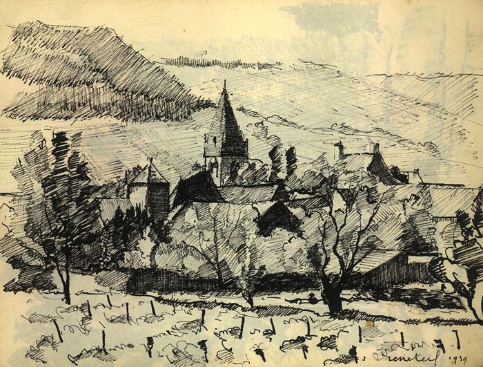 Croquis village