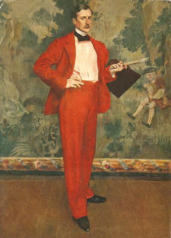L'homme en rouge