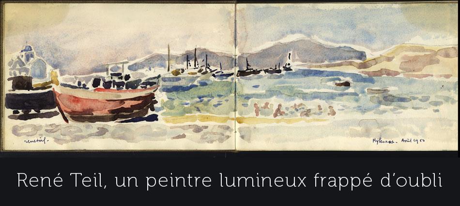 René Teil peintre