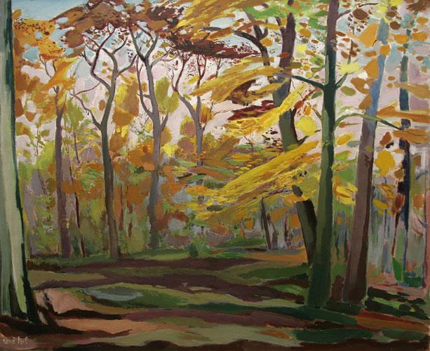 La clairière en automne