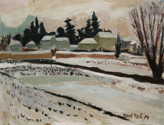 Neige à Lancié