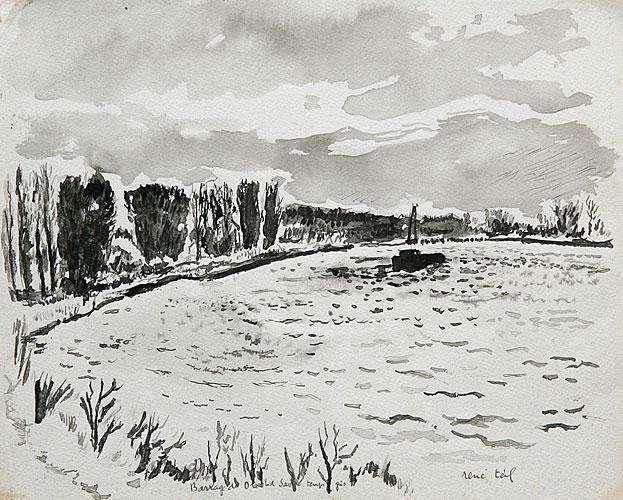 Barrage de la Saône