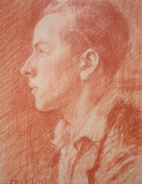 Portrait de Jean Baignères par Caillard