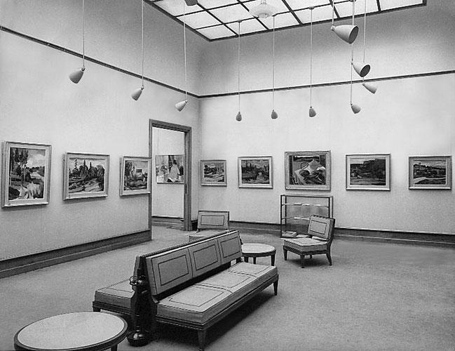 Exposition à la galerie Durand-Ruel (1963)