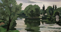 La Marne à Chelles en juin