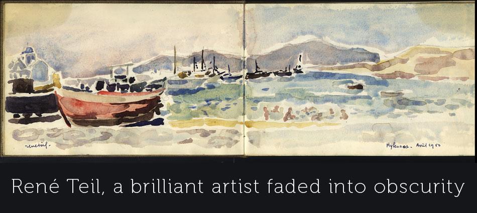 René Teil paintings